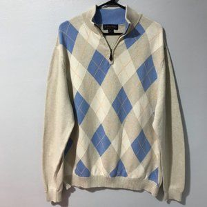 Brooks Brothers 100% Cotton Men's Sweater Size XL